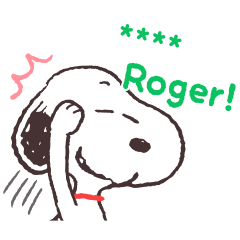 Snoopy Custom Stickers