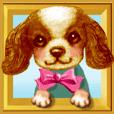 Pop-up stickers of Pets(Cavalier)