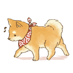 可愛い柴犬の日常スタンプ Line スタンプ Line Store