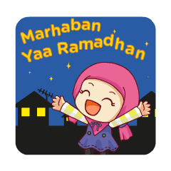 Chibi Girl - Ramadhan