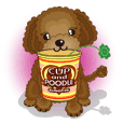 Cup & poodle two