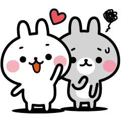 Positive and Negative Rabbits