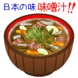 Japanese taste! I like miso soup!