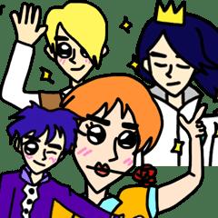 隣国の王子たち