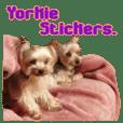 Yorkie's stickers.3