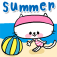 [neco]summer sticker