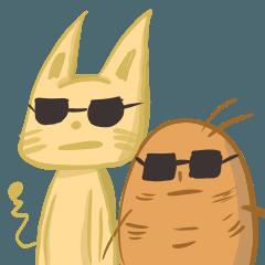 厭世貓與軟爛薯
