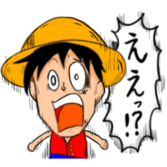 ONE PIECE tukkomi sticker