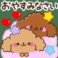 FuwaMoko Toy poodle