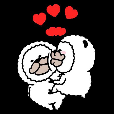 smiling alpaca(popup)