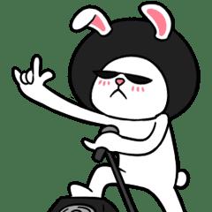 Afro Rabbit 2 Animated