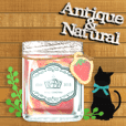 Antique & Natural accessories with Cats