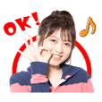 Konomi Suzuki fanclub official sticker