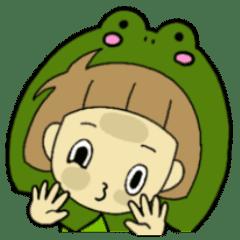 どんぶりすみかちゃん カエル編