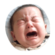 泣いて笑って赤ちゃんと一緒