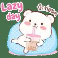 Cutie B : Cute bear with a lazy day