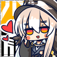"""Girls' Frontline"" official emoticon"