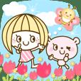 The pretty Spring stickers Ver.2