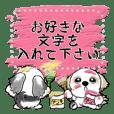シーズー犬『メッセージ』