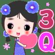 願你健康快樂☆花小靛1(花神少女系列)☆