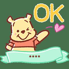 Winnie The Pooh Custom Stickers Line Stickers Line Store