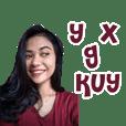 Dewi Basry Sticker