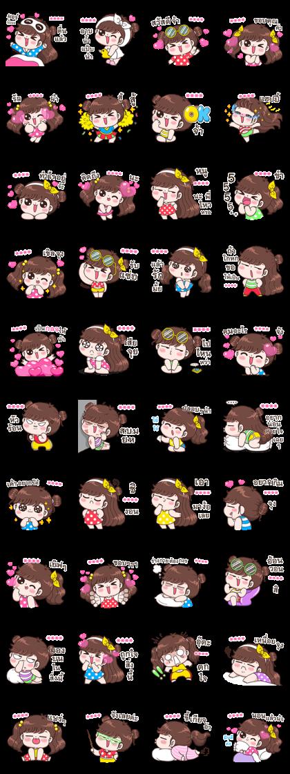 Boobib Custom Stickers