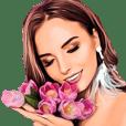 shop soltan girls beautiful(big sticker)