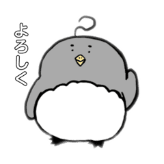 素朴なペンギン