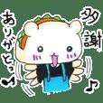 バォテディくん! 中国語と日本語