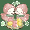 Cute greetings  Twin cats