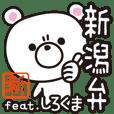 Niigata-ben Polar Bear