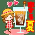 恋する夏のスタンプ♡【初夏~残暑】