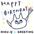 NIKU-Q Greeting Stickers 2