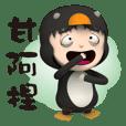 penguin Hei lun-Daily acid words 02