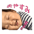 Baby's Live action Sticker2