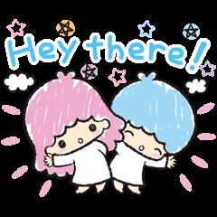Little Twin Stars: Hand-Drawn Stickers