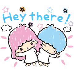 Little Twin Stars: Hand-Drawn Stickers