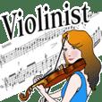 ヴァイオリニスト