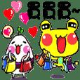 Mahjong Frog - Daily Humor Life2 - Nikky
