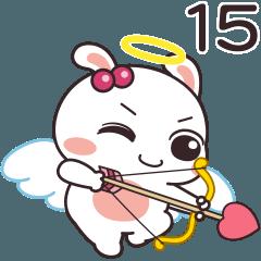 嬌嬌兔15-甜蜜互動貼圖