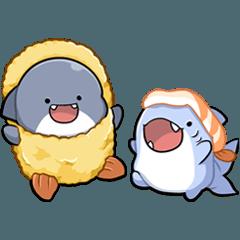 胖鯊魚鯊西米8★亮金金★