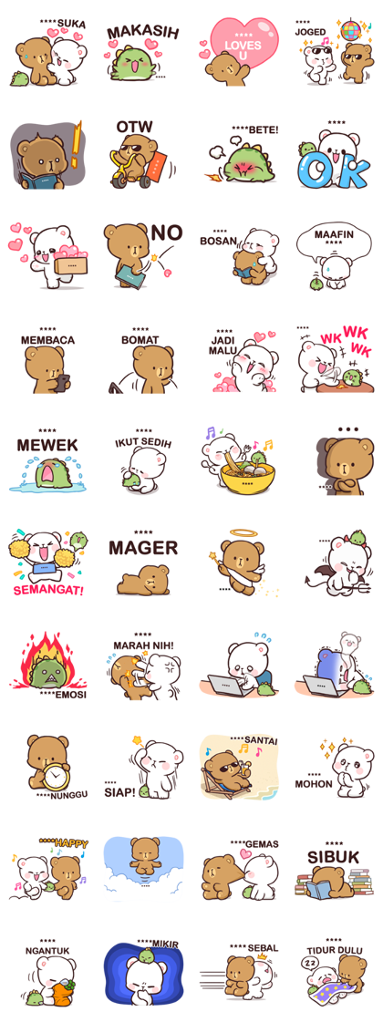 Milk & Mocha: Custom Stickers
