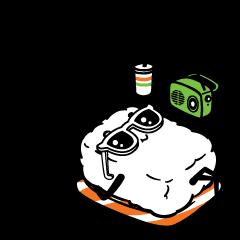 สติ๊กเกอร์ไลน์ Sushi Buddies