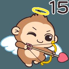 潑潑猴15-甜蜜互動貼圖