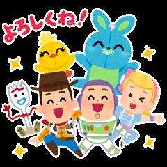 Toy Story 4 Stickers by Takashi Mifune