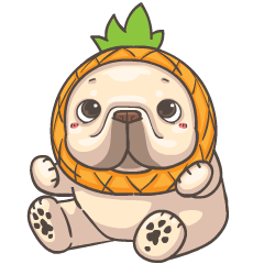 French Bulldog PIGU- Sticker III