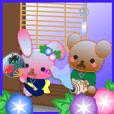 Rabbit and bear daily(Summer)