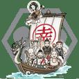 伝説の日本の神