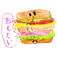Various breads sticker
